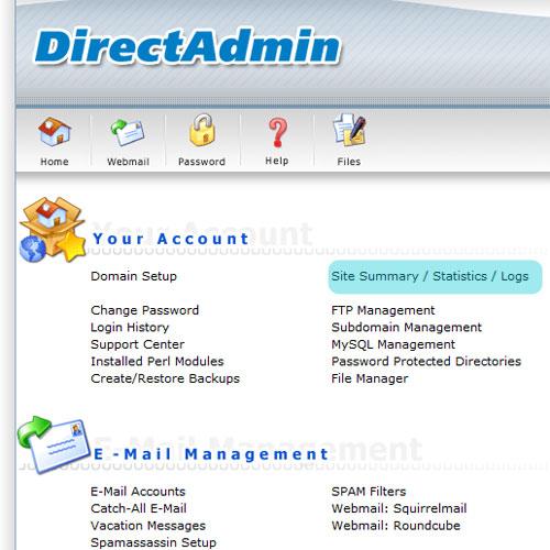 vào xem file log trong direct amdin